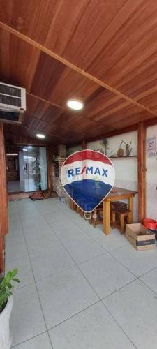 Imagem 1 de 12 de Casa Com 3 Dormitórios À Venda, 100 M² Por R$ 470.000,00 - Campo Grande - Rio De Janeiro/rj - Ca0697