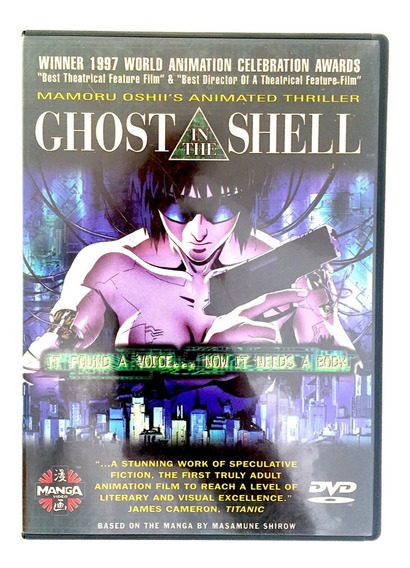 Ghost In The Shell 1995 Dvd Excelente Estado Original
