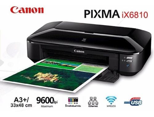 Impresora Canon A3 Ix6810