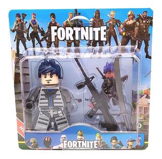 Fortnite Tipo Lego Blister Con Accesorios