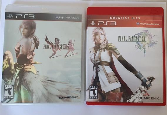 Combo Final Fantasy Xiii & Xiii-2 (2 Mídias Físicas) Ps3
