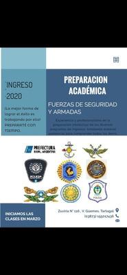 Preparación Académica Para Rendir Ingreso A Las Fuerzas