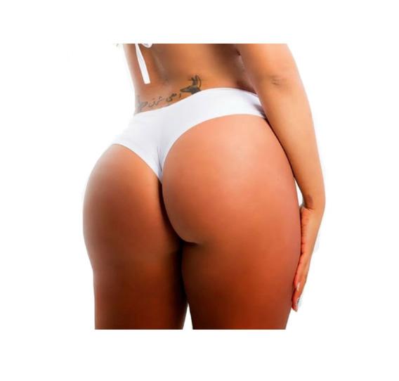 Micro Shorts Lycra Spandex 2656 Bco - Ropahrara