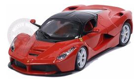 Miniatura Ferrari Laferrari Vermelha Burago 1/24