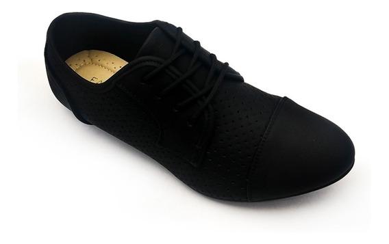 Sapato Oxford Feminino Original Facinelli 50910 By Mooncity