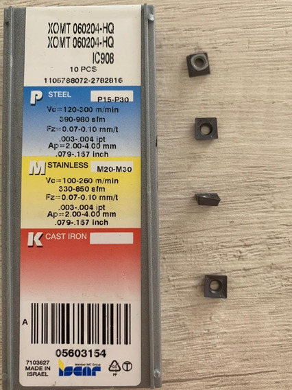 Wolh 2.5-1-sw Ic328 Insert For Dzdrill Iscar 10 pack