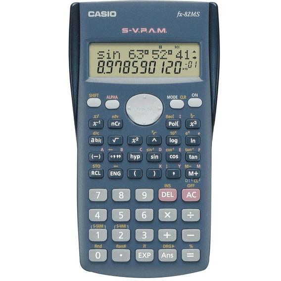 Calculadora Casio Fx-82ms Original Científica 240 Funções