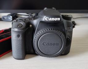 Câmera Canon 70d Somente Corpo