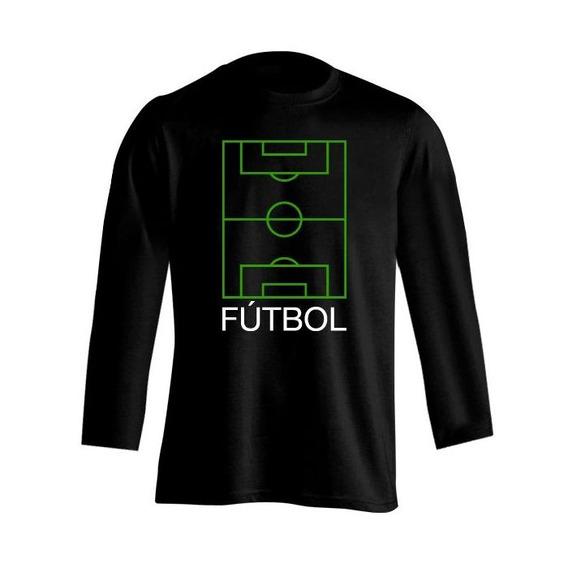 Fútbol Frases Cancha Remera Niña Nml