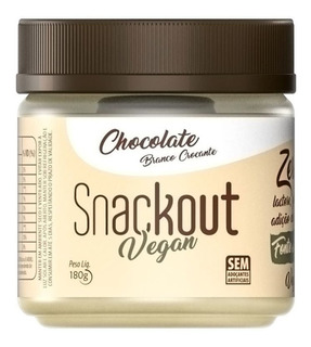 Doce Fit Snackout Chocolate Branco Crocante 180g - Vegano