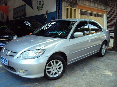 Civic Lx 1.7 Manual 2005 Completo