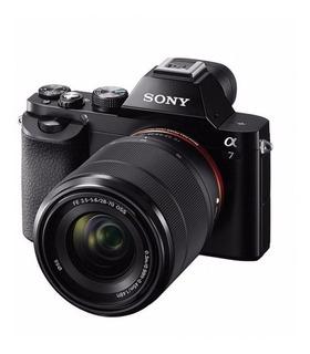 Cámara Sony Alpha A7 Con Lente 28-70mm