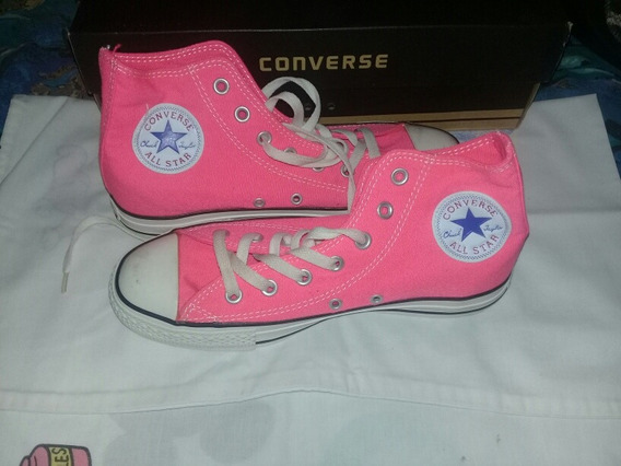 Zapatos Converse All Star Talla 39 Fucsia Margarita 25 V