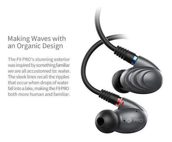 Fone In Ear Fiio F9 Pro Audiófilo
