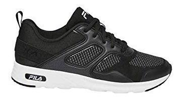 Zapatos Deportivos Fila Negro Tallas 6 Y 7 (us)