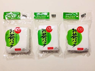 Daiso 3x100pcs Disposable Filter Bags For