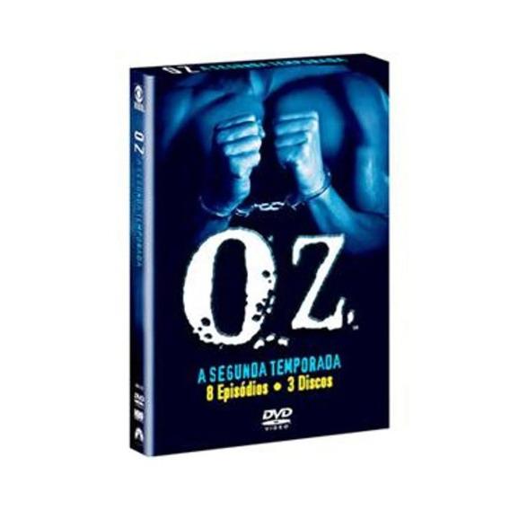 Seriado Oz 2ª Temporada 3 Discos Dvd - Original