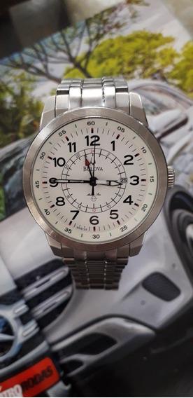 Relógio Bulova Modelo 96b125titaniun Oportunidade Confira