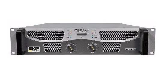 Skp Maxg -1220x Amplificador De Potencia Com Crossover 1200w