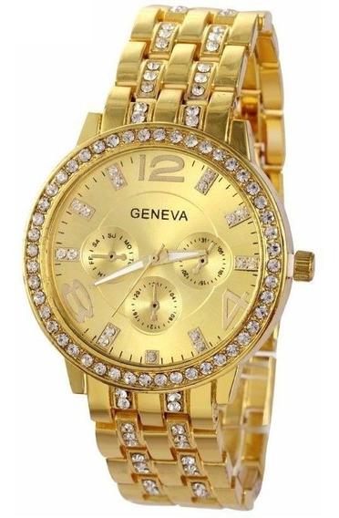 Relógios Femininos Baratos Original Geneva 2812 C/ N F