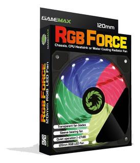 Ventilador Fan Cooler Rgb Para Pc Gamer 120 Mm Gamemax
