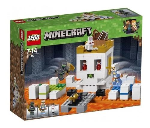 Lego Minecraft Skulls Arena 21145 - 198 Piezas