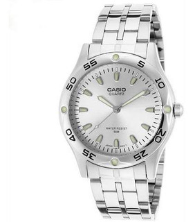Reloj Casio Mtp-1243d Hombre Acero Inox Sumergible