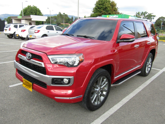 Toyota 4runner Limited At 4000cc Aa 4x4 Ct 7p