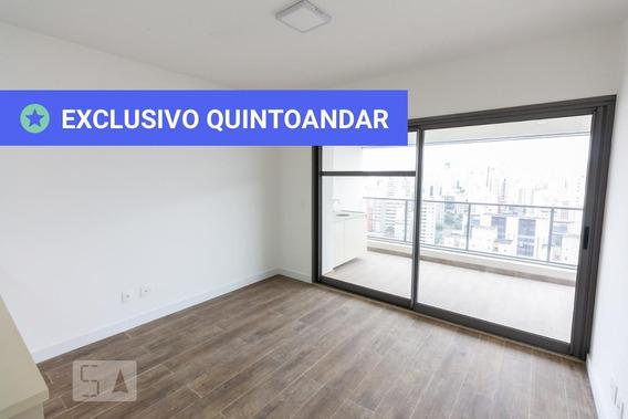 Apartamento No 24º Andar Com 1 Dormitório E 1 Garagem - Id: 892959256 - 259256