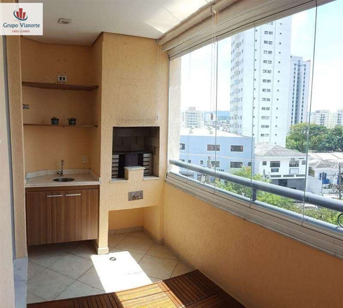 Apartamento A Venda No Bairro Lauzane Paulista Em São Paulo - 12464-1