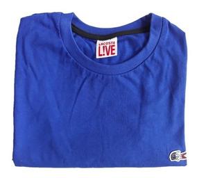 Kit 3 Camisetas Lacoste Slim Malha Peruana Camisa De Marca