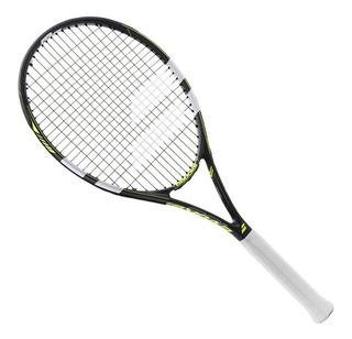 Raqueta De Tenis Babolat Evoke 102 Con Cuerda Y Funda Grafito En Slice Deportes