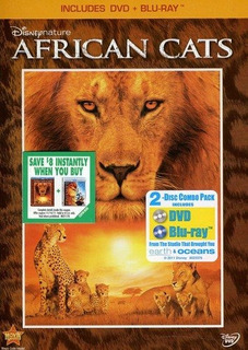 Dvd : - Disneynature: African Cats (with Blu-ray,...