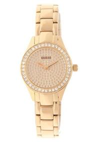 Relógio Feminino Guess Original Dourado Com Strass Só R$199!
