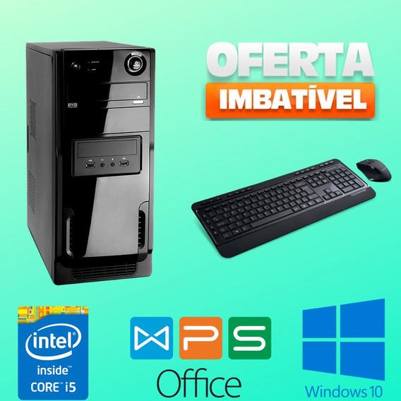 Cpu Intel Core I5 4gb Hd 320 Wifi Windows 10