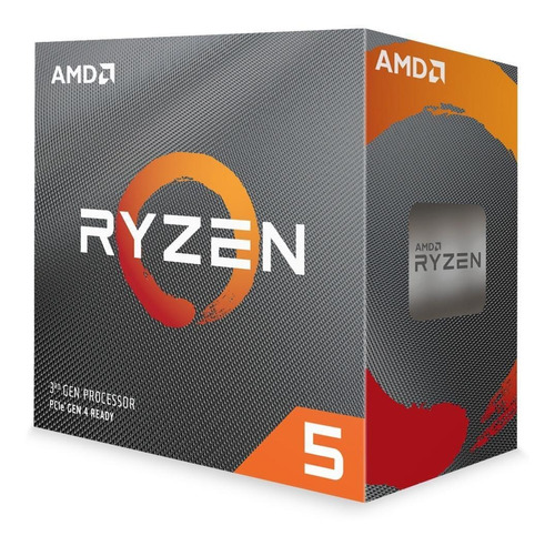 Processador Amd Ryzen 5 3600 3.6ghz 32mb Am4 Wraith Stealth