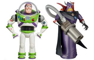 Buzz Lightyear Y Zurg Original Toy Story 4 30 Cms Pa Hoyyyy