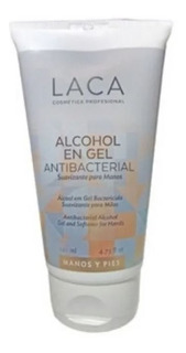 Alcohol En Gel Antibacterial 140 Ml Laca