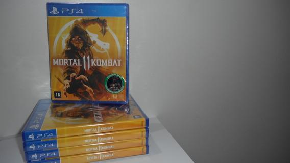 Mortal Kombat 11 Ps4 Mídia Física Novo Lacrado Português
