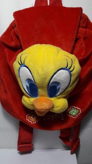 Mochila Infantil Tweety Papelera 62249 Sobre Ruedas Juguetes