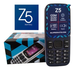 Blu Z5 Dual Sim Tela 1.8 Câmera Vga - Fm Preço Promocional