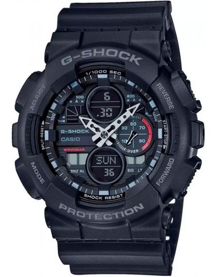 Relógio De Pulso Masculino Casio G-shock Anadigi Ga-140-1a1d