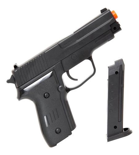 Imagem 1 de 7 de Pistola Sig Sauer P226 6mm Airsoft Spring Mola 18cm 180 Fps