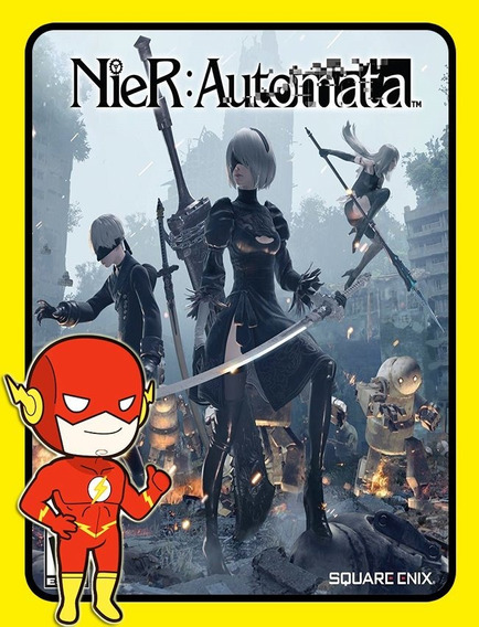 Nier Automata Pc - Steam Key (envio Flash)