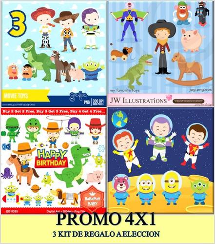 Papel Para Forrar Cuadernos Toy Story Kits Personalizados En