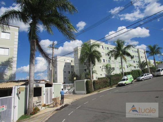 Apartamento Com 2 Dormitórios À Venda Ou Locação, 45 M² Por R$ 195.000 - Vila Carminha - Campinas/sp - Ap5874