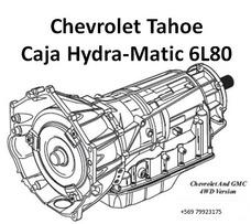 Reparacion Transmision Automatica Tahoe Suburban Camaro 6l80