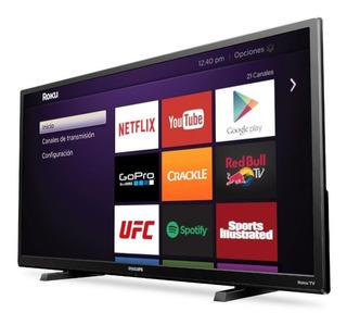 Pantalla Smart Tv Philips 32pfl4664 32 Pulgadas Roku