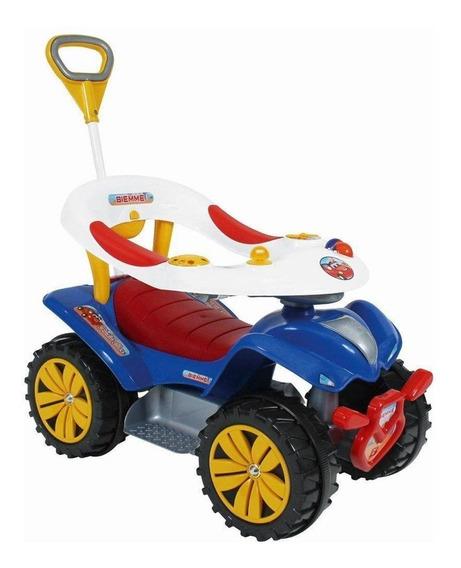 Quadriciclo Carrinho De Passeio Andador Infantil Dudu Car
