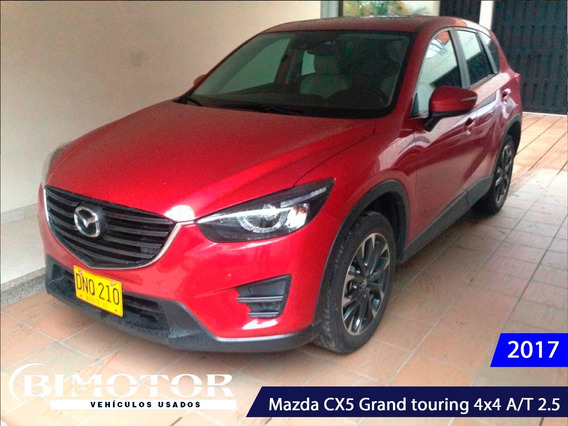 Mazda Cx5 Grand Touring 4x4 A/t 2017 Espectacular